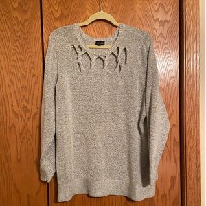 Torrid - Grey Sweater - Size 3